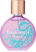 Parfumuri și produse cosmetice Desigual Fresh World - Apă de toaletă
