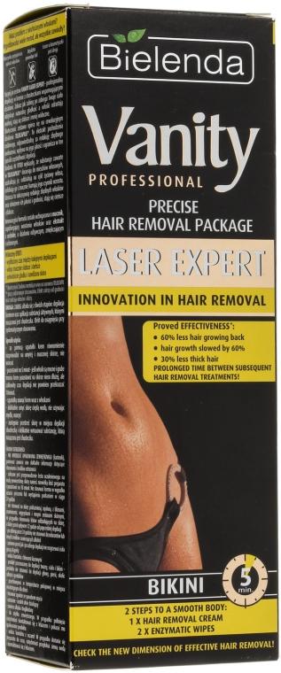 """Set """"Pentru epilare initimă"""" - Bielenda Vanity Laser Expert (cr/100ml + balm/2x5g + blade)"""