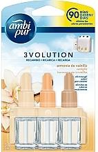 """Parfumuri și produse cosmetice Set """"Armonie de vanilie"""" - Ambi Pur (refill/3x7ml)"""