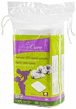 Parfumuri și produse cosmetice Discuri demachiante, 60 bucăți - Silver Care Cotton Squares