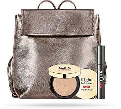 Parfumuri și produse cosmetice Set - Pupa Explosive Lashes & Light Infusion 2019 (mascara/12ml + highighter/4g + bag)
