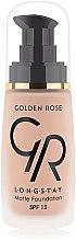 Parfumuri și produse cosmetice Fond de ten - Golden Rose Longstay Matte Foundation