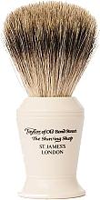Parfumuri și produse cosmetice Pămătuf de ras, P376 - Taylor of Old Bond Street Shaving Brush Pure Badger size L