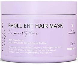 Parfumuri și produse cosmetice Mască pentru păr cu efect de netezire (porozitate redusă) - Trust My Sister Low Porosity Hair Emollient Mask
