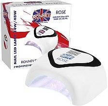 Parfumuri și produse cosmetice Lampă UV/LED - Ronney Professional Nail Led Lamp Rose White