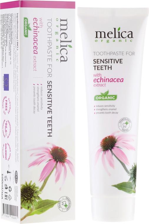 Pastă de dinți cu extract de echinacea - Melica Organic  — Imagine N1