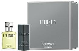 Parfumuri și produse cosmetice Calvin Klein Eternity For Men - Set (edt/100ml + deo/75ml)