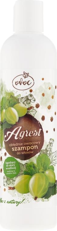 Șampon cu extract de agrișe și alge marine - Ovoc Agrest Szampon