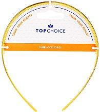 Parfumuri și produse cosmetice Cordeluță de păr, 27901, galbenă - Top Choice