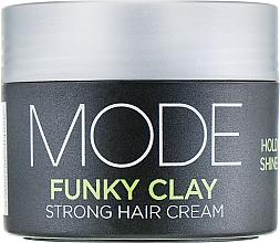 Parfumuri și produse cosmetice Cremă pentru volum cu fixare puternică - Affinage Mode Funky Clay