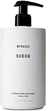 Parfumuri și produse cosmetice Byredo Suede - Loțiune pentru mâini