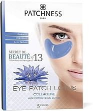 Parfumuri și produse cosmetice Patch-uri revitalizante cu extract de lotus - Patchness Eye Patch Lotus