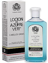 Parfumuri și produse cosmetice Loțiune împotriva căderii părului - Intea Azufre Veri Balance Lotion for Grey Hair
