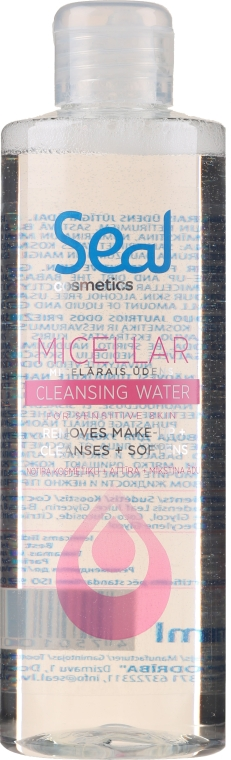 Apă micelară pentru ten sensibil - Seal Cosmetics Micellar Cleansing Water