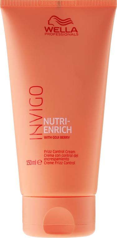 Cremă de păr - Wella Professionals Invigo Nutri-Enrich Frizz Control Cream