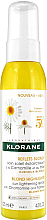 Parfumuri și produse cosmetice Spray pentru păr - Klorane Blond Highlights Sun Lightening Spray With Chamomile And Honey