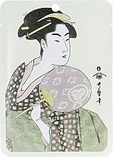 "Parfumuri și produse cosmetice Mască facială ""Lăptișor de matcă + Sakura Blossom"" - Mitomo Royal Jelly Cherry Blossom Facial Essence Mask"