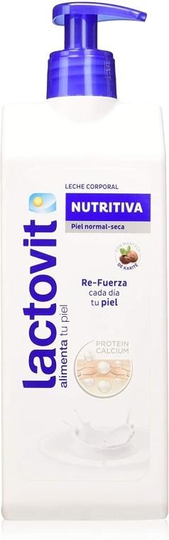 Lapte hidratant de corp - Lactovit Nourishing Body Milk