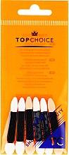 Parfumuri și produse cosmetice Aplicatoare pentru farduri de ochi 35883, 6 bucăți - Top Choice Eyeshadow Applicators