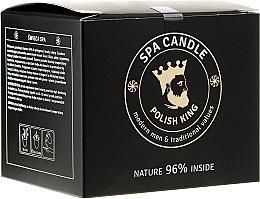 Parfumuri și produse cosmetice Balsamul- Lumânare pentru barbă - Polish King Spa Candle