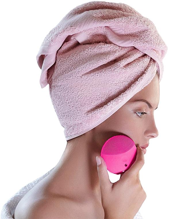 Perie de curățare și masaj pentru față - Foreo Luna Mini 3 Facial Cleansing Brush Fuchsia — Imagine N5