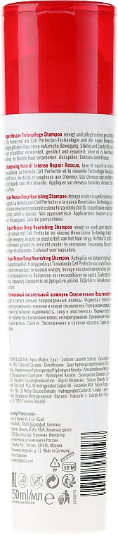 Şampon regenerant - Schwarzkopf Professional BC Bonacure Repair Rescue Reversilane Shampoo — Imagine N2