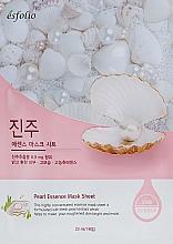 Parfumuri și produse cosmetice Mască din țesătură cu extract de perle - Esfolio Pearl Essence Mask Sheet