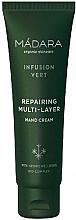 Parfumuri și produse cosmetice Cremă revitalizantă de mâini - Madara Cosmetics Infusion Vert Repairing Multi-Layer Hand Cream