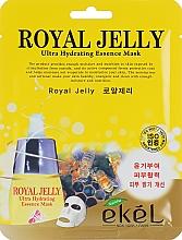 Parfumuri și produse cosmetice Mască nutritivă din țesătură cu lăptișor de matcă - Ekel Royal Jelly Hydrating Essence Mask