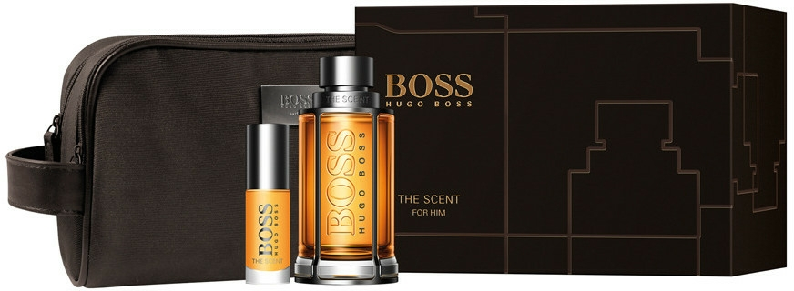 Hugo Boss The Scent - Set (edt/100ml + edt/8ml + bag) — Imagine N1