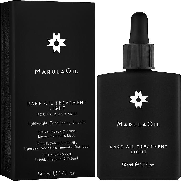 Ulei de marula pentru păr normal - Paul Mitchell Marula Oil Rare Oil Treatment Lite — Imagine N1