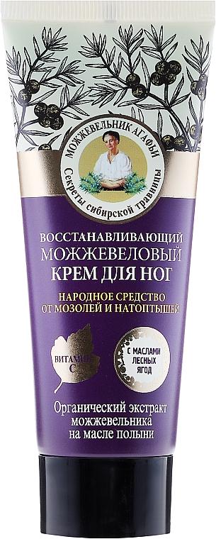 Cremă regeneratoare de ienupăr pentru picioare - Reţete bunicii Agafia Juniper Repairing Foot Cream
