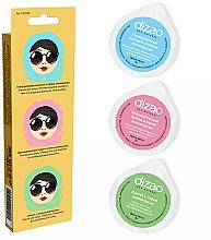 Parfumuri și produse cosmetice Un set de măști de față cu argilă de manikuagan - Dizao