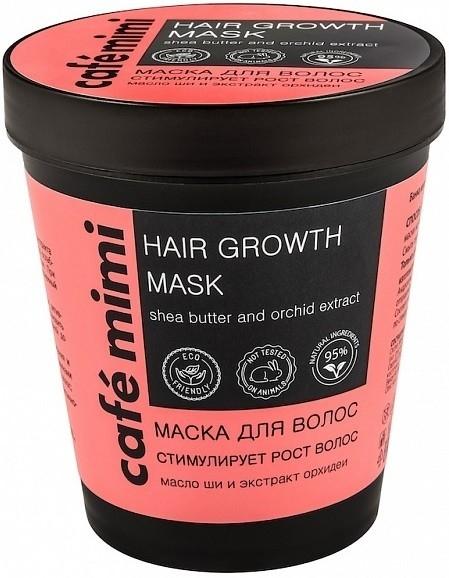 Mască pentru stimularea creșterii părului - Cafe Mimi Mask