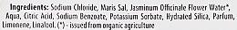 "Sare de baie ""Iasomie de cașmir"""" - Organic Shop Baths Salt Organic Jasmine & Salt — Imagine N3"