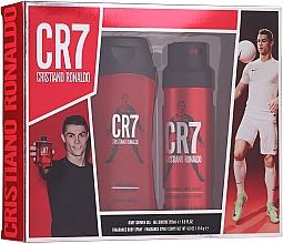 Parfumuri și produse cosmetice Cristiano Ronaldo CR7 - Set (sh/gel/200ml + deo/spray/114g)