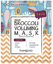 Parfumuri și produse cosmetice Mască din țesătură pentru față - Huangjisoo Broccoli Voluming Mask