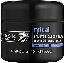 Parfumuri și produse cosmetice Pomadă de păr - Black Professional Line Rytual