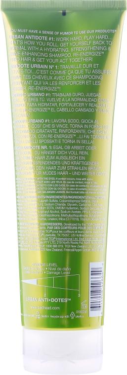 Șampon pentru păr normal - Tigi Bed Head Urban Antidotes Re-energize Shampoo — Imagine N2