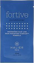 Parfumuri și produse cosmetice Balsam împotriva căderii părului pentru bărbați - Halier Men Fortive Conditioner (mostră)