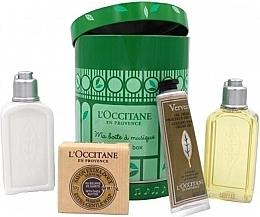 Set - L'Occitane Verbena My Music Box (sh/gel/75ml + b/milk/75ml + h/cr/30ml + soap/50g) — Imagine N2
