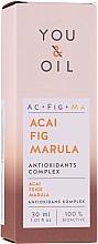 Parfumuri și produse cosmetice Ser facial - You & Oil Acai Fig Marula