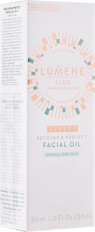 Ulei de față regenerator - Lumene Sisu [Urban Antidotes] Recover&Protect Facial Oil — Imagine N2
