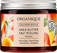 "Peeling de sare ""Mango"" - Organique Shea Butter Salt Peeling Mango — Imagine N1"