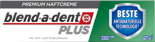 Cremă adezivă pentru fixarea protezelor dentare - Blend-A-Dent Premium Adhesive Cream Plus Dual Protection Fresh