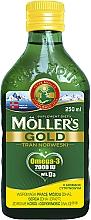 """Parfumuri și produse cosmetice Supliment alimentar cu aromă de lămâie """"Tran Norweski Gold"""" - Mollers"""
