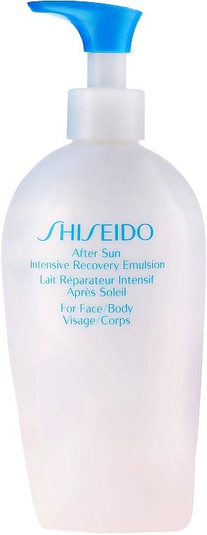 Emulsie după plajă cu efect de restabilire, pentru față - Shiseido Suncare After Sun Intensive Recovery Emulsion — Imagine N2