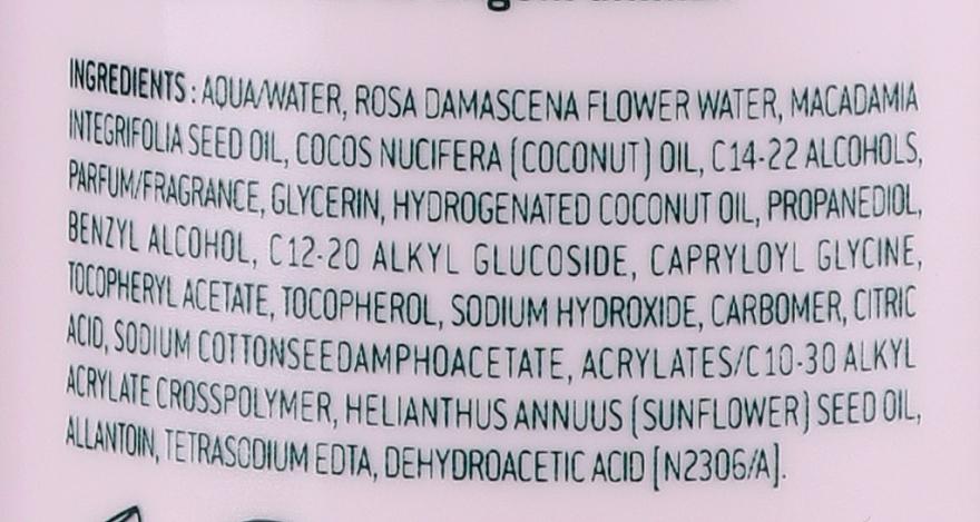 Lăptișor cu petale de trandafir pentru față, ochi și buze - Nuxe Comforting Cleansing Milk With Rose Petals — Imagine N3