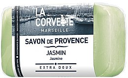 "Parfumuri și produse cosmetice Sapun provensal ""Jasmine"" - La Corvette Provence Soap Jasmine"