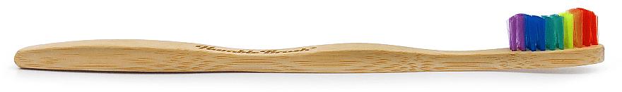Periuță de dinți din bambus, curcubeu - The Humble Co. Proud Rainbow Soft Toothbrush — Imagine N2